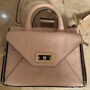 Pale pink with sparkle purse
